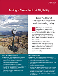 Roth Eligibility